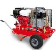 FG-678 17+17 Motocompresor pistón a gasolina (9Hp-10bar)